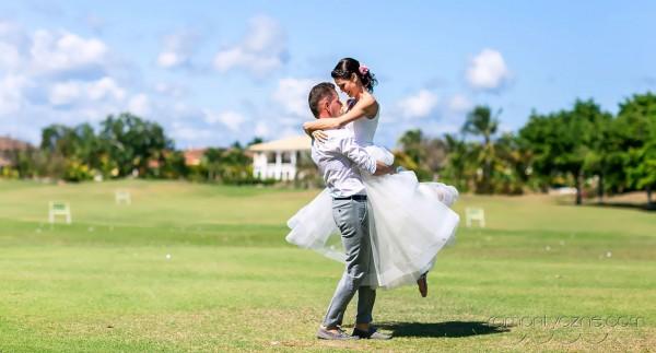 Ślub w tropikach, Dominikana