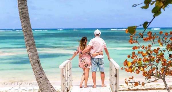 Romantyczne chwile wśród plaż Dominikany