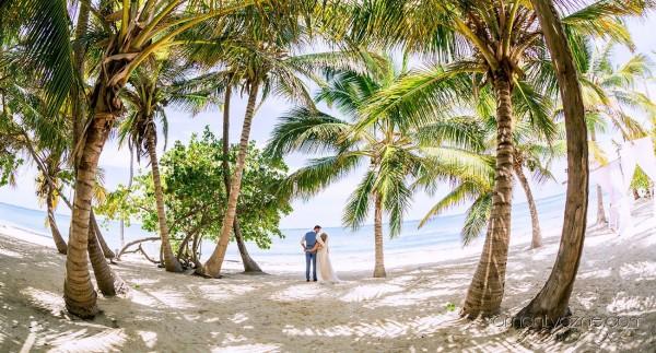 Na prywatnej plaży, Karaiby