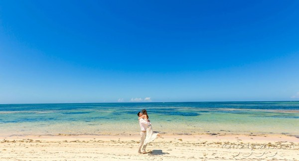 Prywatna plaża, Saona Island
