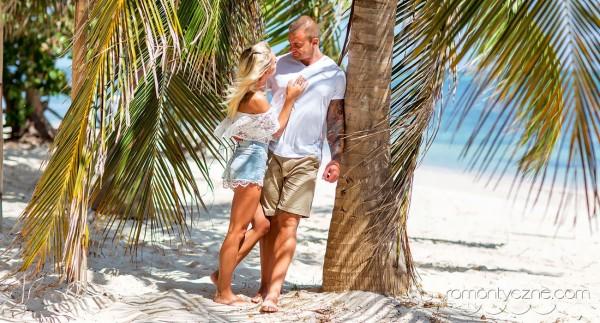 Ceremonie ślubne na prywatnej plaży, tropikalne śluby