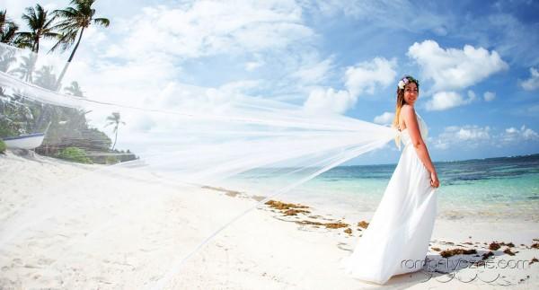 Nieszablonowy ślub kolacja dla dwojga, podróże poślubne na Karaibach