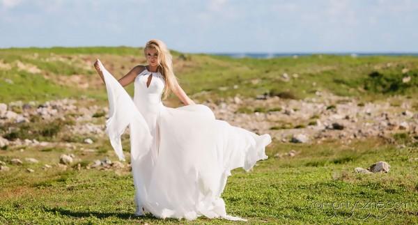 Nieszablonowy ślub na dominikańskiej plaży, romantyczne ceremonie