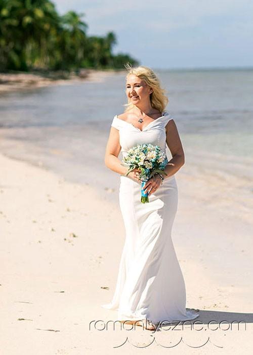 Śluby oficjalne kolacja dla dwojga, podróże poślubne na Karaibach