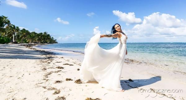 Zaręczyny Saona Island, Dominikana, tropikalne śluby