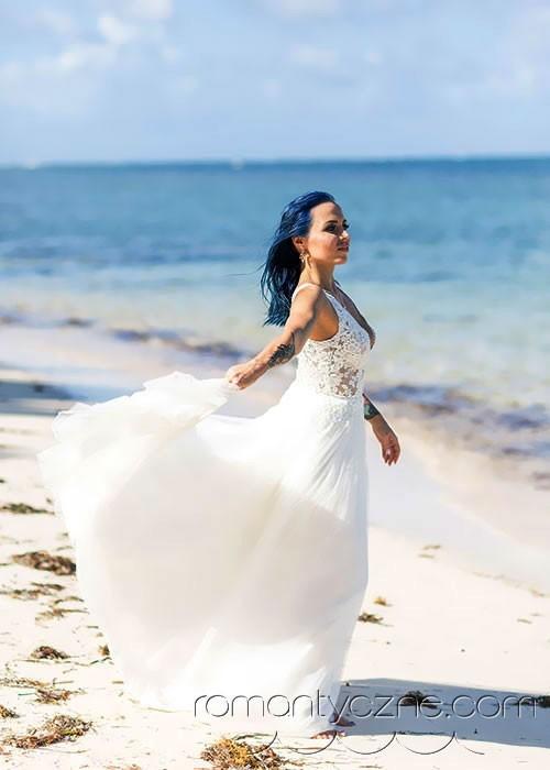 Śluby za granicą na tropikalnej plaży, podróże poślubne na Karaibach