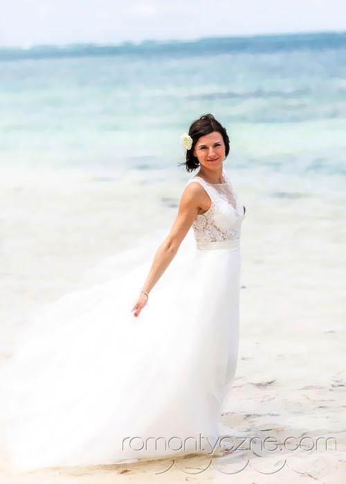 Suknie ślubne na plażę, Dominikana
