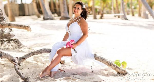 Ślub na prywatnej plaży, fotosesje
