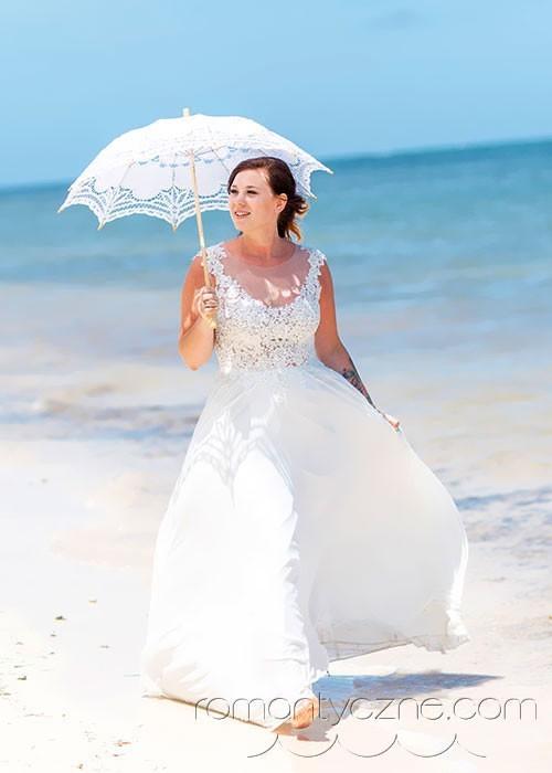 Zaręczyny na prywatnej plaży, tropikalne śluby