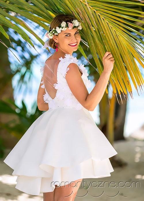 Prywatny ślub wśród palm na wyspie Saona