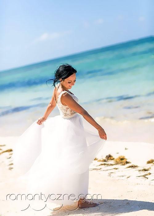 Dominikana, spacer po plaży