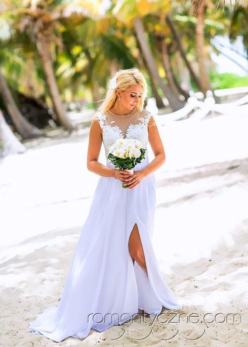 Suknie ślubne na plaży