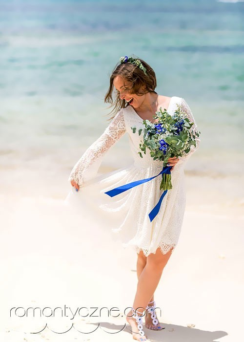 Plażowe suknie ślubne, Dominikana