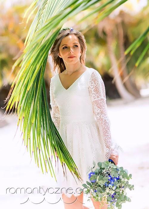 Suknie ślubne na plaży, Dominikana