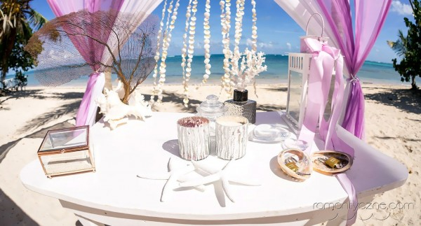 Ceremonie ślubne na prywatnej plaży, organizacja ślubu