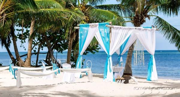 Ceremonie ślubne na prywatnej plaży, organizacja ceremonii