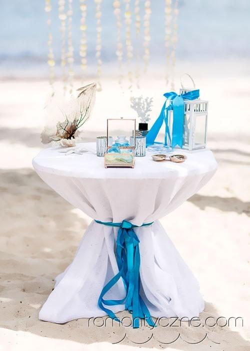 Nieszablonowy ślub na dominikańskiej plaży, Karaiby