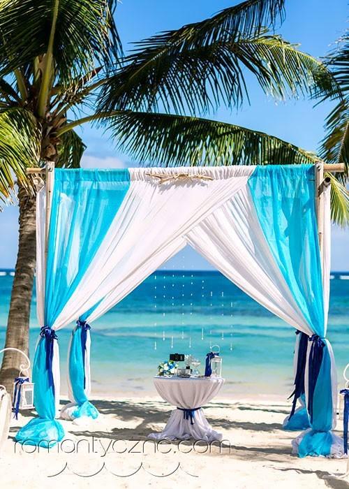 Ślub na plaży, romantyczne ceremonie
