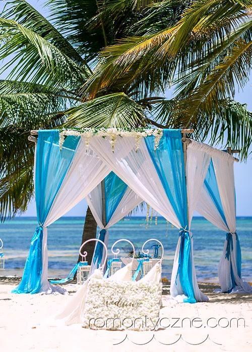 Ceremonie ślubne na prywatnej plaży