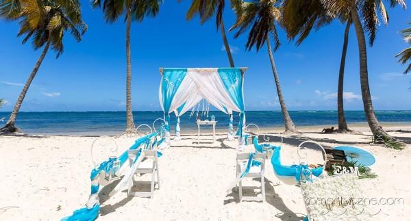 Dominikana, śluby na prywatnej plaży