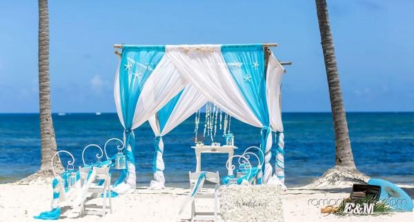 Tropikalne śluby, karaibski turkus