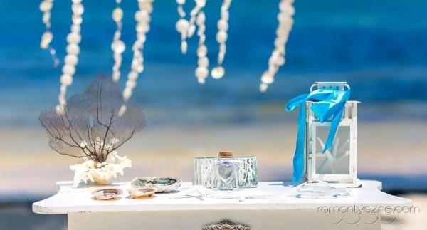 Karaibski ślub na plaży