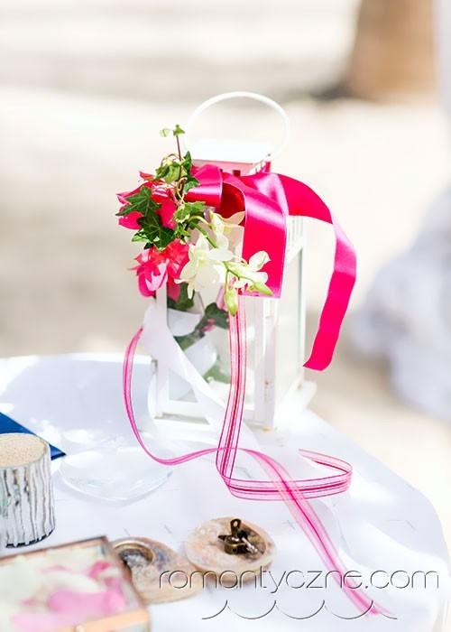 Dekoracje Słodki Róż Dominikana ślub