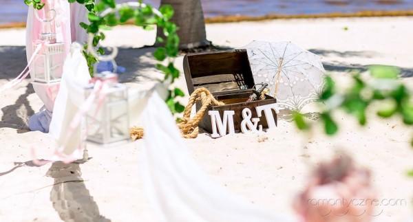 Śluby oficjalne na dominikańskiej plaży