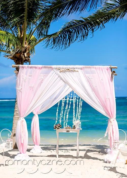 Ślub na rajskiej plaży, Dominikana