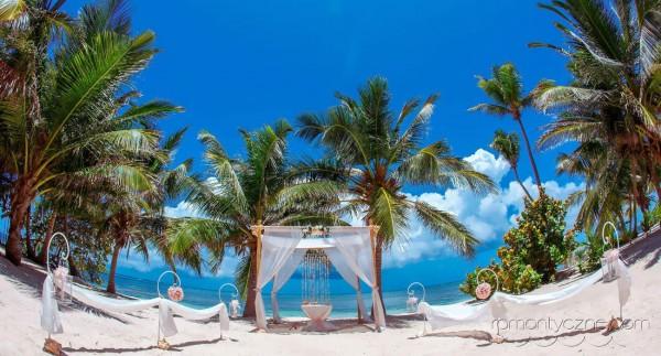Plaża tylko dla nowożeńców