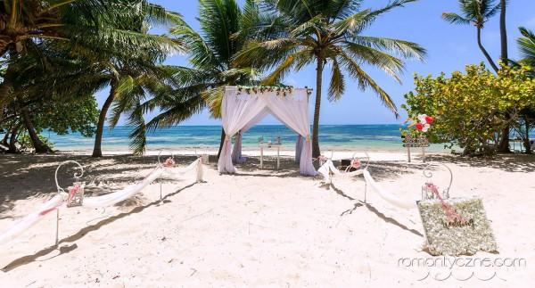 Śluby na dominikańskiej plaży