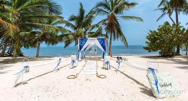 Śluby oficjalne kolacja dla dwojga, Karaiby