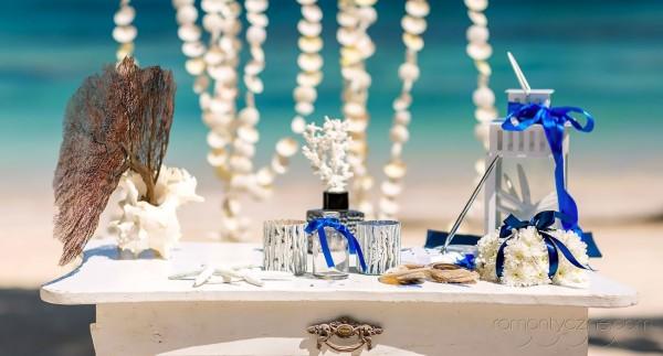 Dekoracje, tropikalne śluby, Dominikana