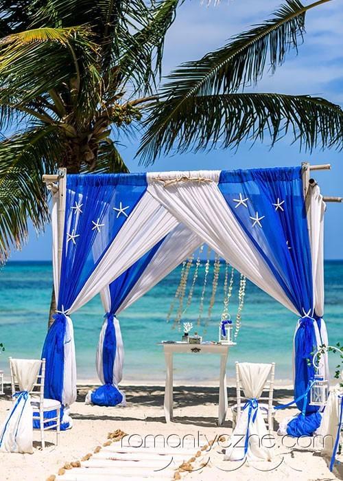 Śluby Saona Island, Dominikana, tropikalne śluby