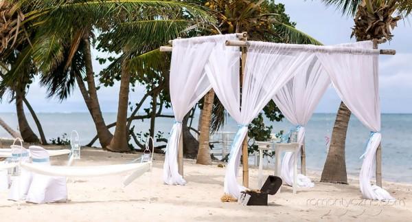 Zaręczyny Saona Island, Dominikana, organizacja ceremonii