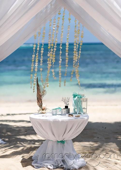 Podróże poślubne, rajska atmosfera