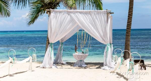 Ślub na wyspie Saona, rajska atmosfera