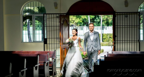 Ślub katolicki w Dominikanie