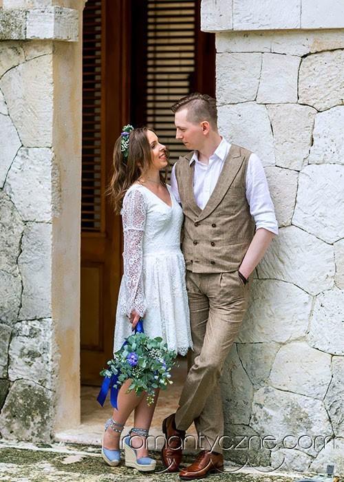 Kościelny ślub w tropikach