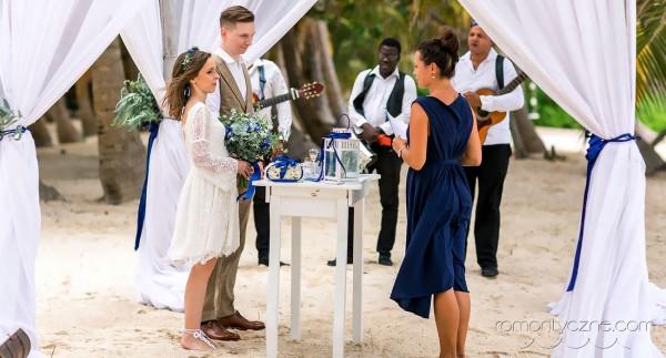 Ślub na wyspie Saona