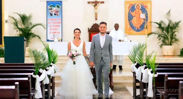 Ślub katolicki w kościele, Dominikana