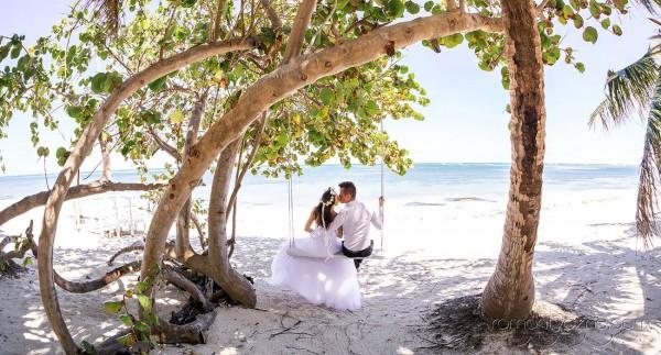 Ślub karaibski na plaży
