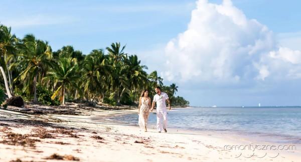 Śluby w tropikach, wyspa Saona