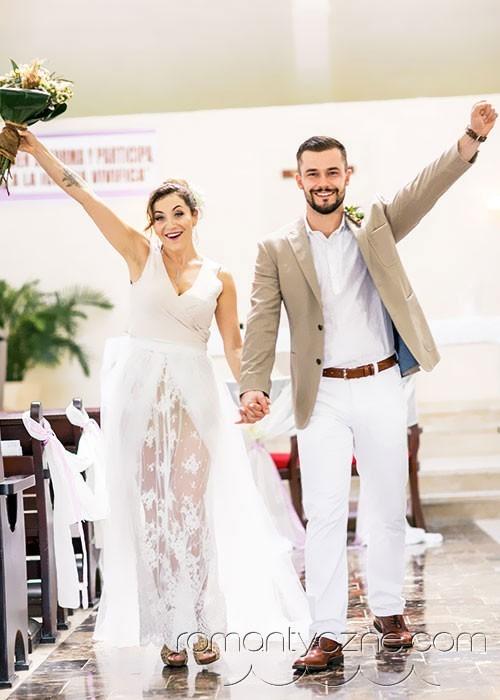 Tropikalne śluby, ślub kościelny