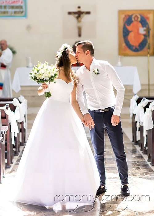 Ślub katolicki w tropikach