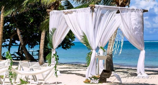 Organizacja ślubów na wyspie Saona