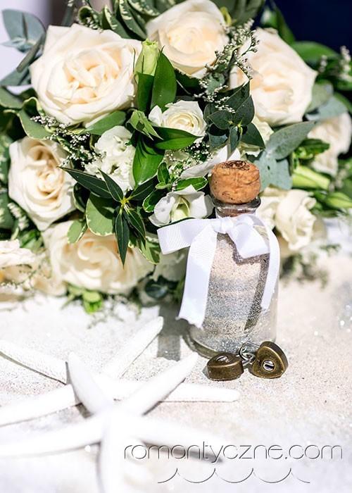 Bukiet ślubny na plaży, Dominikana