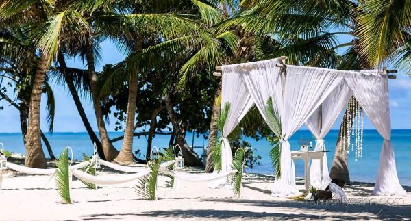 Ślub na wyspie Saona, Dominikana