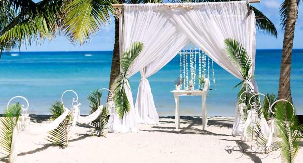 Nieszablonowy ślub na plaży, Dominikana