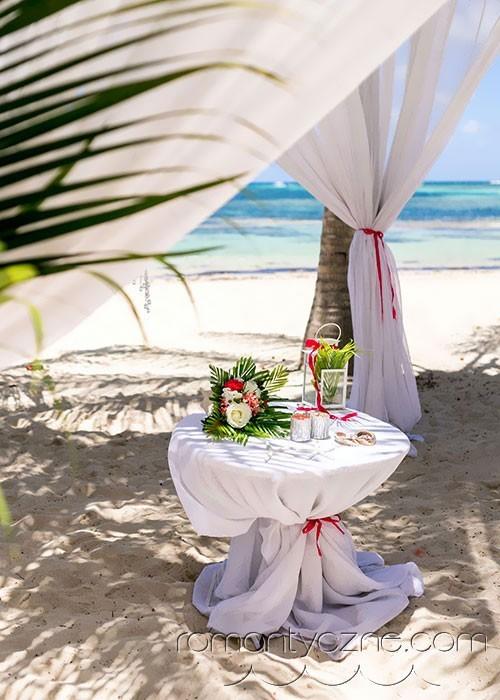 Ślub na prywatnej plaży, Saona Island